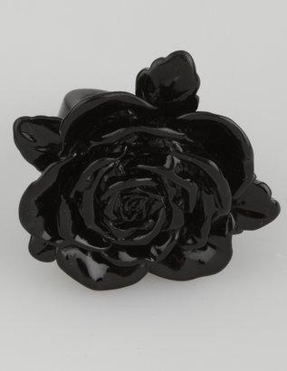 Charlotte Russe Shiny Flower Ring
