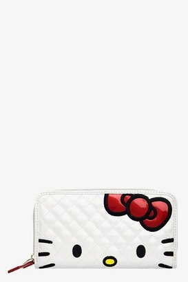 Hello Kitty Loungefly White & Red Face Wallet