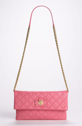 Marc Jacobs 'Quilting Sandy' Lambskin Leather Clutch