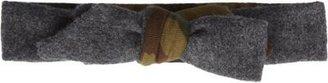 Vanities Camo Flannel Bow Tie