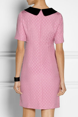 Moschino Cheap & Chic Moschino Cheap and Chic Polka-dot matelassé dress