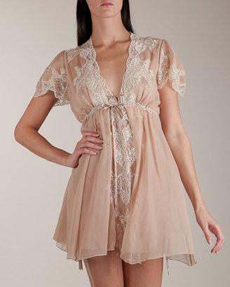25 Lace Chiffon Short Robe