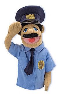Melissa & Doug Melissa Doug Police Officer Puppet