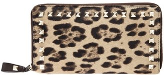 Valentino Garavani 'Rockstud' zipped wallet