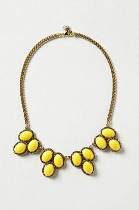 Anthropologie Berry Cove Bib Necklace