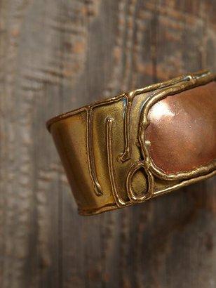 Free People Vintage Mixed Metal Bracelet