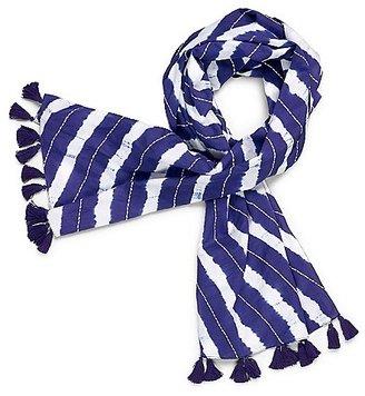 Tory Burch Tie-Dye Scarf