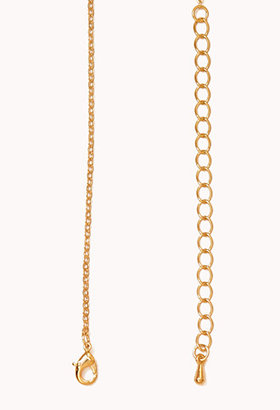 Forever 21 S Initial Pendant Necklace