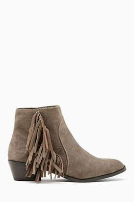 Nasty Gal Shoe Cult Barletta Fringe Boot
