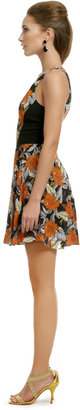 Proenza Schouler Hibiscus Flippy Dress