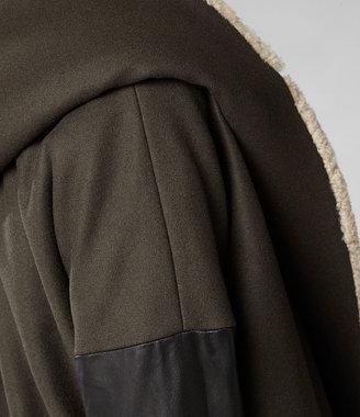 AllSaints Klein Shearling Parka Jacket