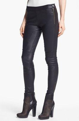 Rachel Zoe 'Maxine' Skinny Stretch Leather Pants