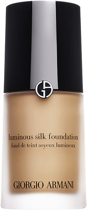 Armani Women's Luminous Silk Foundation-NUDE $64 thestylecure.com