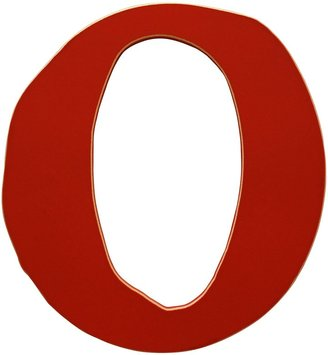 Rusty New Arrivals The Letter O Red