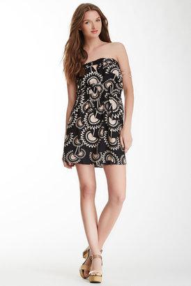 Angie Strapless Pocket Dress