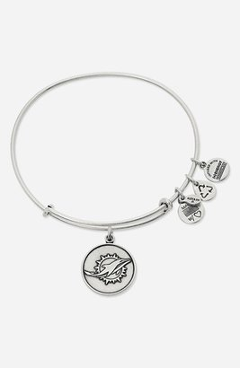 Alex and Ani 'NFL - Miami Dolphins' Adjustable Wire Bangle