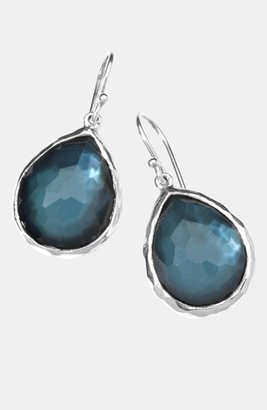 Ippolita Women's 'Wonderland' Teardrop Earrings - Silver/ Turquoise (Online Only)