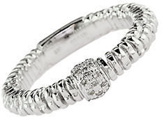 EFFY Balissima Sterling Silver Textured Diamond Ring