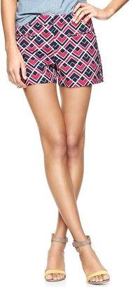 Gap Printed clean front shorts