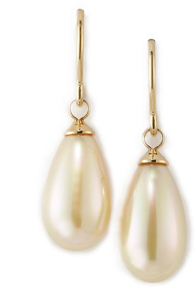 Majorica Pear-Shaped Pearl Earrings