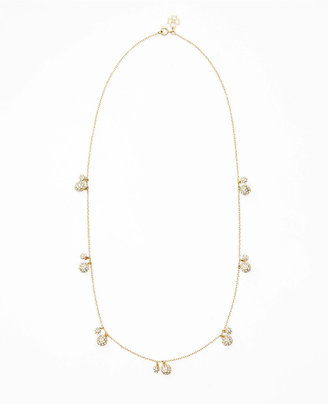 Ann Taylor Pave Fireball Necklace