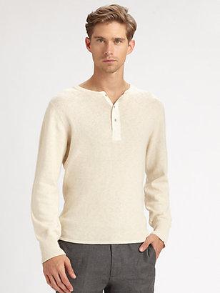 Gant Slubber Henley Sweater