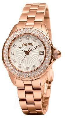 Folli Follie Day Dream Rose Gold-Plated Bracelet Watch