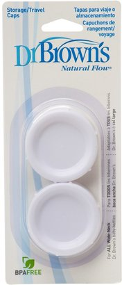 Dr Browns Dr Brown's Wide-Neck Storage/Travel Caps - 2 Pk