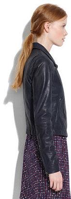Madewell Veda x leather moto jacket