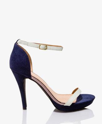 Forever 21 Colorblocked Platform Sandals