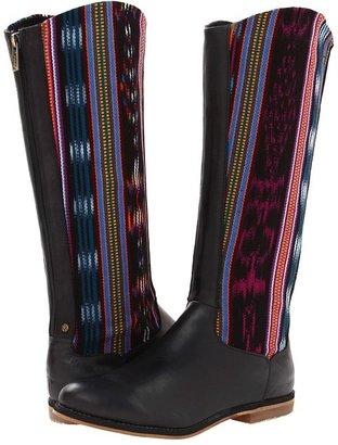 Reef Santa Marta (Black Multi) - Footwear