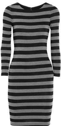 Alice + Olivia Striped jersey dress