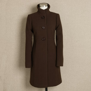 J.Crew Double-cloth Sybil coat