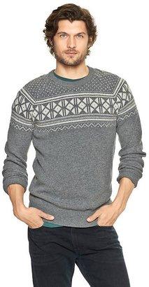 Gap Fair Isle chest sweater