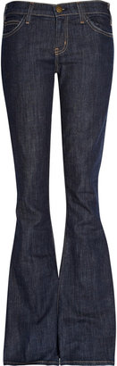 Current/Elliott The Low Bell low-rise flared jeans