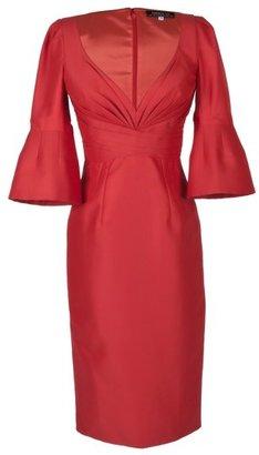 Andrew Gn Vermillion Cocktail Dress