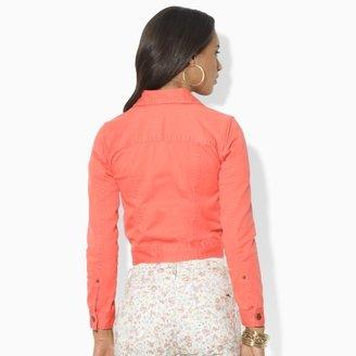 Lauren Ralph Lauren Ralph Colored Jean Jacket