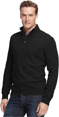 Tasso Elba Sweater, Heavyweight Mock Neck Sweater