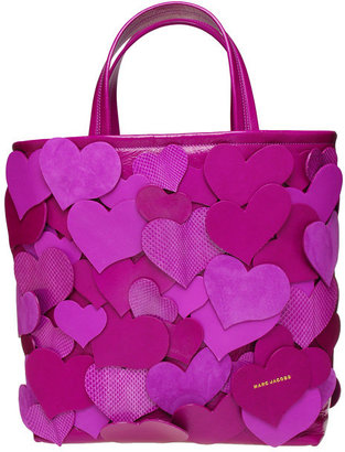 Marc Jacobs Large Tote with Heart Cut Outs