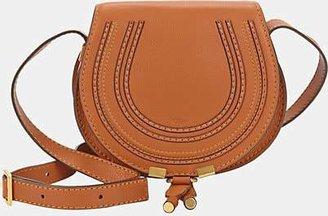 Chloé Women's Marcie Small Leather Crossbody Bag - Beige, Tan