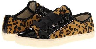 GUESS Kids' - Louvre Low (Little Kid) (Cheetah Suede) - Footwear