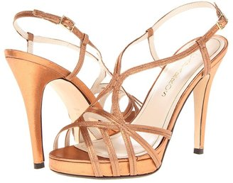Caparros Highlight (Bronze Metallic Satin) - Footwear