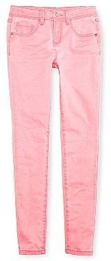 Vanilla Star Washed Neon Skinny Jeans - Girls 4-16