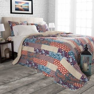Yorkshire Home Cabin and Lodge Santa Fe Quilt Set