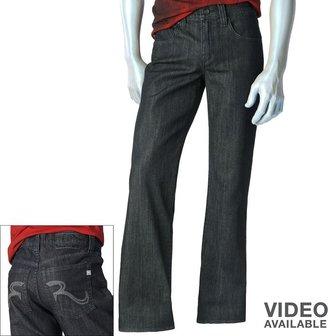 Rock & Republic raw straight jeans