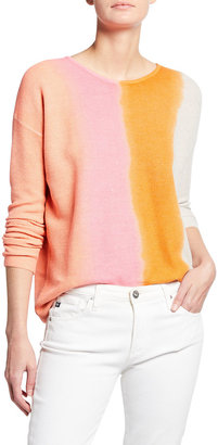 LISA TODD Made In Shade Ombre Cotton Sweater