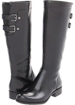 Anne Klein Keera (Black Leather) - Footwear