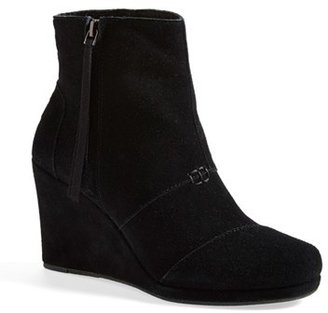 Women's Toms 'Desert' Wedge High Bootie $97.95 thestylecure.com