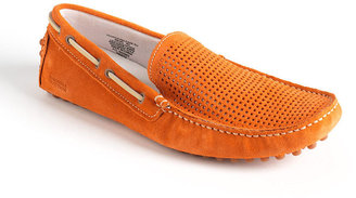 Kenneth Cole Reaction Clutch Release Suede Driving Moccasins