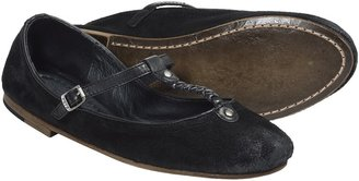 Frye Carson Braided T Ballet Flats - Suede (For Women)